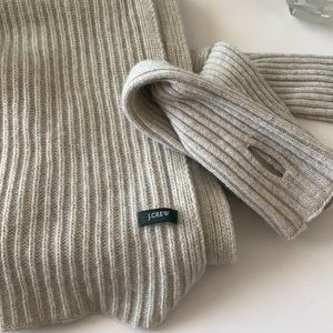 J. CREW Scarf and arm warmers